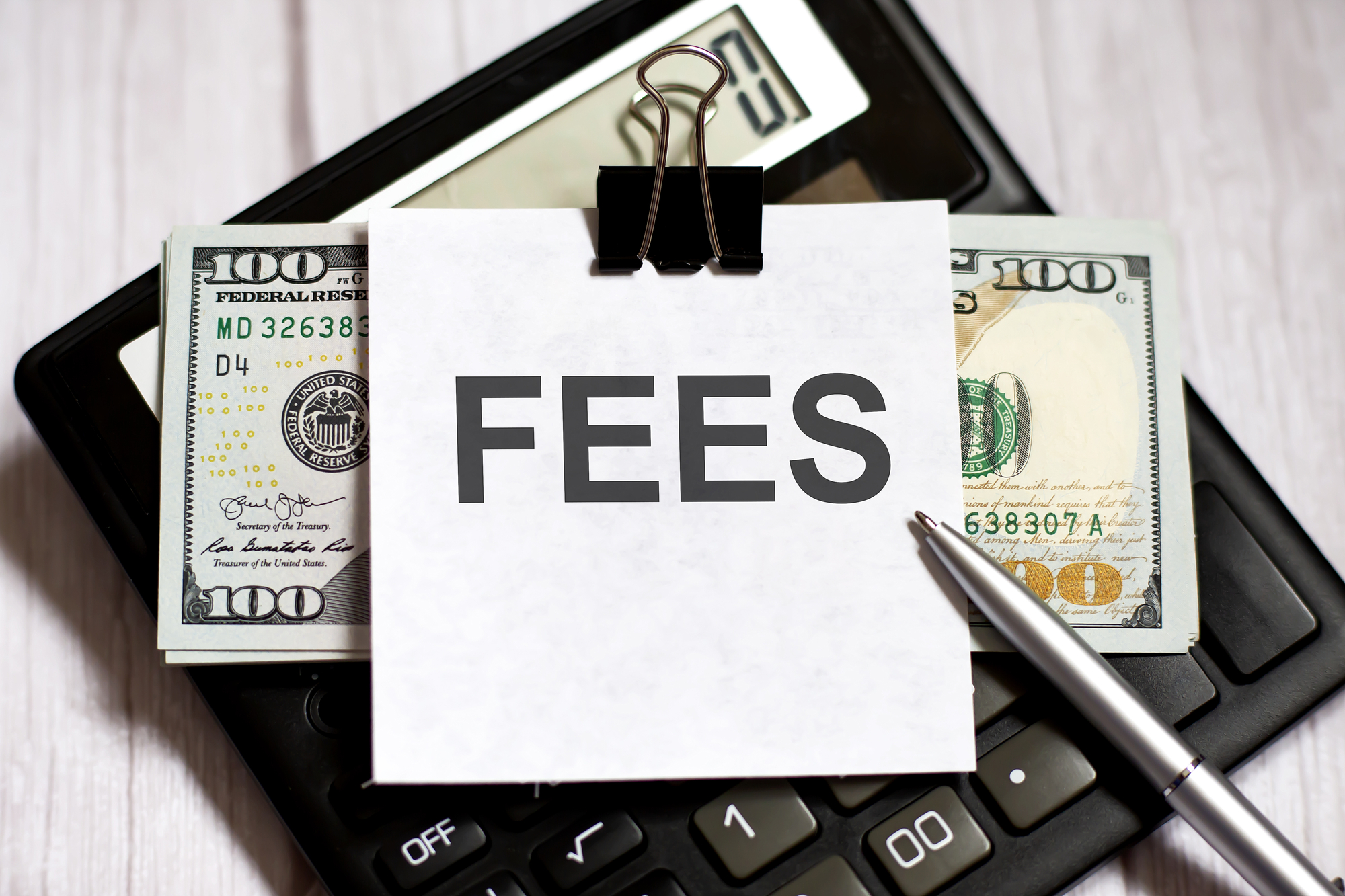 Fees – Part I: What Fees Am I Paying?